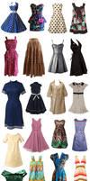 Retro dresses - part 2