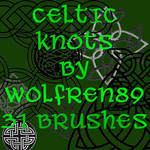Celtic Knots Brush Set