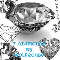 Diamond Brush set by KitWolfren