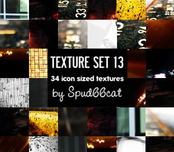 Texture Set 13 by spud66cat