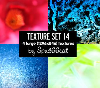 Texture Set 14 by spud66cat