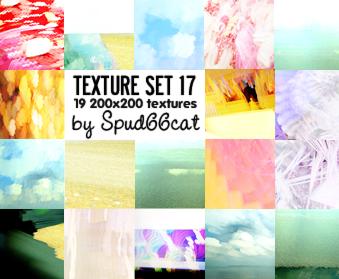 Texture Set 17 by spud66cat