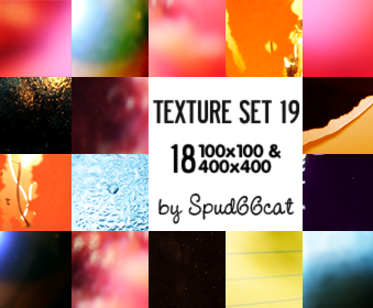 Texture Set 19 by spud66cat