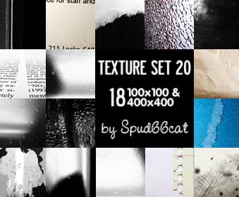 Texture Set 20 by spud66cat