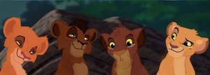 Makali and tojo's cubs