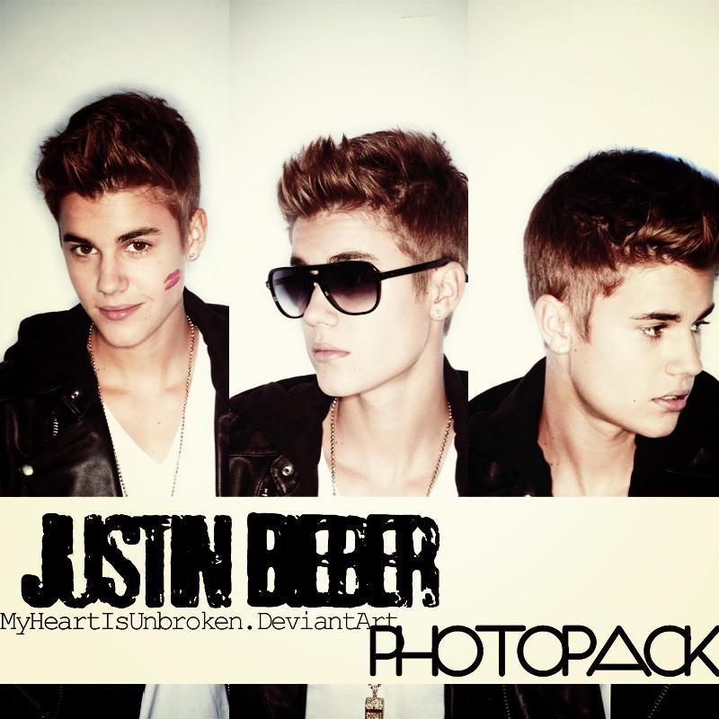 +JustinBieber Photopack by MyHearIsUnbroken