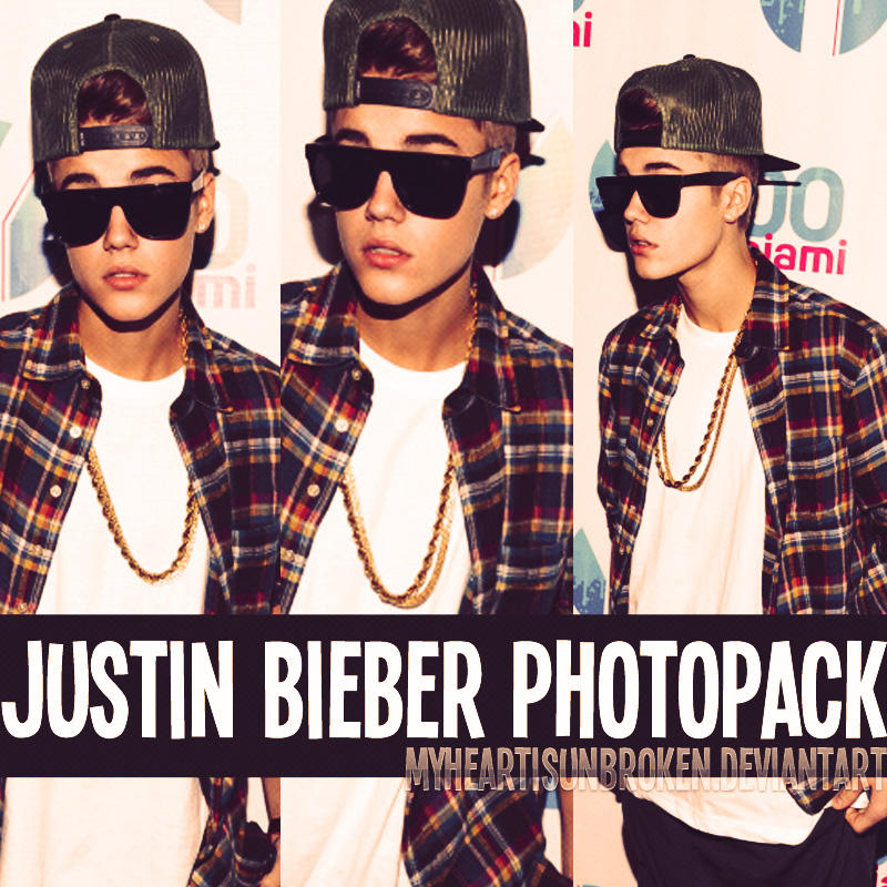 +JustinBieber Photopack(2) by MyHearIsUnbroken