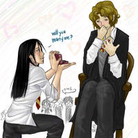 Harry Potter: Marry me? S+R