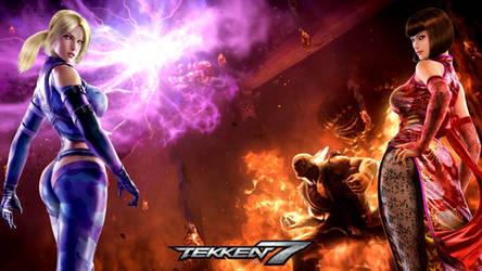 Nina Anna Heihachi Akuma Tekken 7 Splash by nextiy