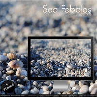 Sea Pebbles Wallpaper by buzzstorm