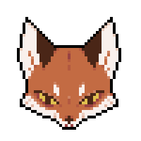 [free to use] red fox icon by Chigle