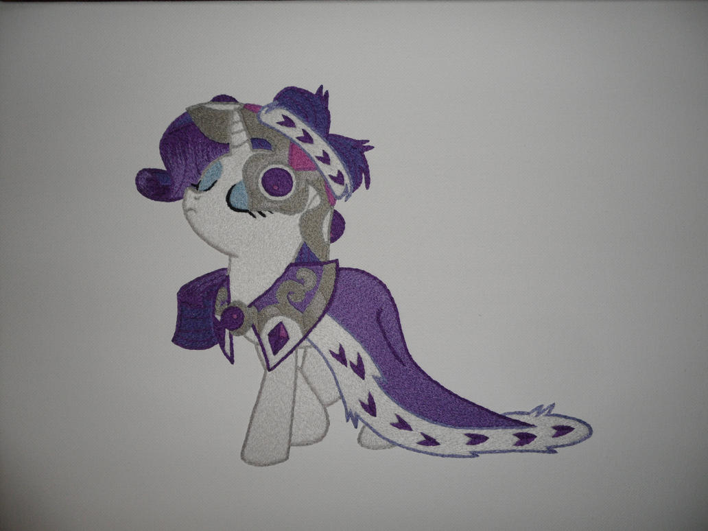 Princess Platinum Embroidery by PaperFox92131