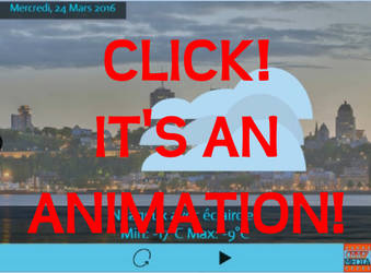 Meteo Project for Animation Class by Arcaxon