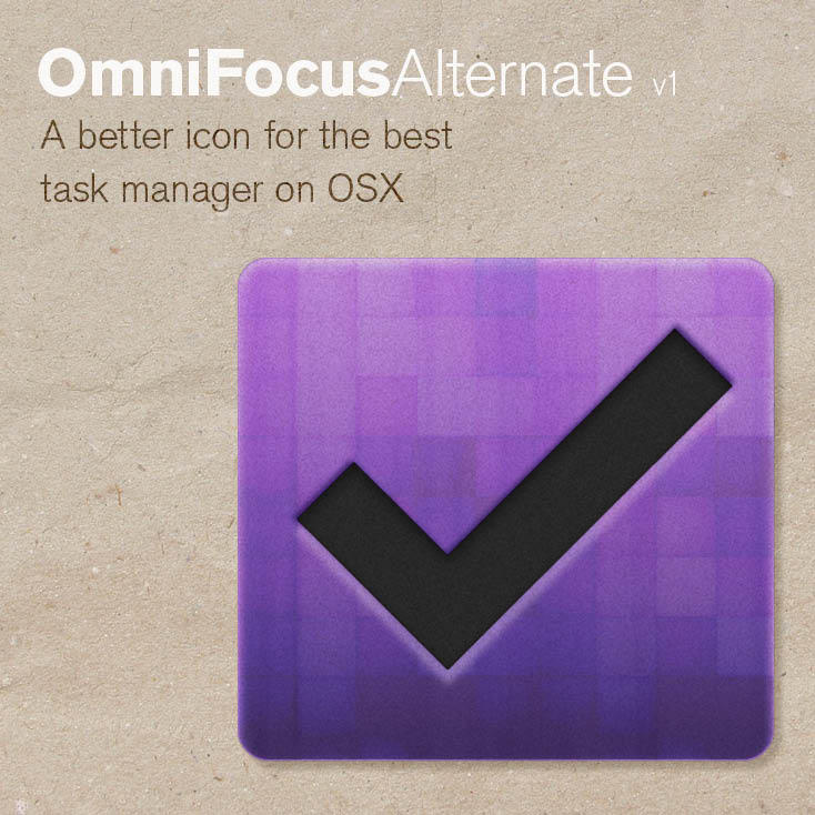 OmniFocus Alternate Icon by IvanNeto