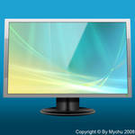 LCD Screen PSD Template