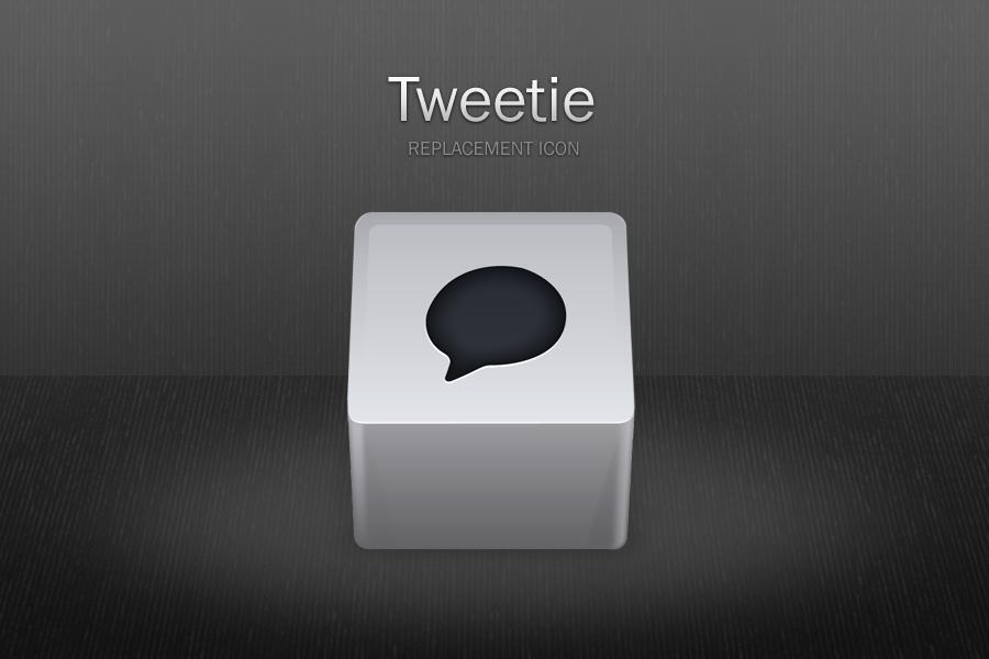 Tweetie replacement icon by benedik