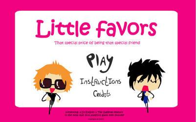 Little Favors -Jrock flash game- by j-am