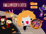 Halloween's Catch -the Gazette mini game-