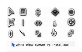 White Glow Cursor v3 Install by PC2012