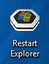 Win7 WinXP Restart Explorer  Version 2012 by PC2012
