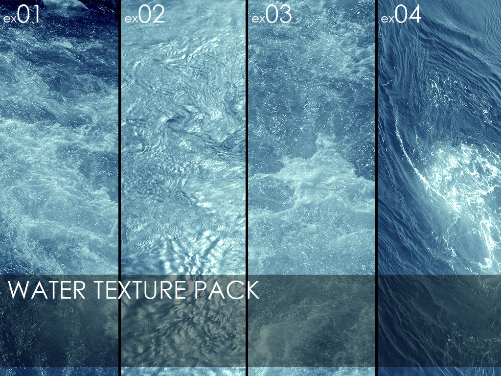 Textures: Water Collection