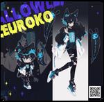 Halloween fleuroko auction . closed