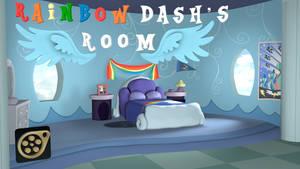 [SFM/DL] Rainbow Dash's Room