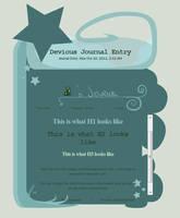 Dreaming Journal Skin by jaclynonacloud