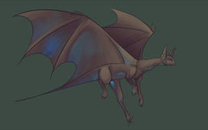 Free Bat Dragon Base by jaclynonacloud