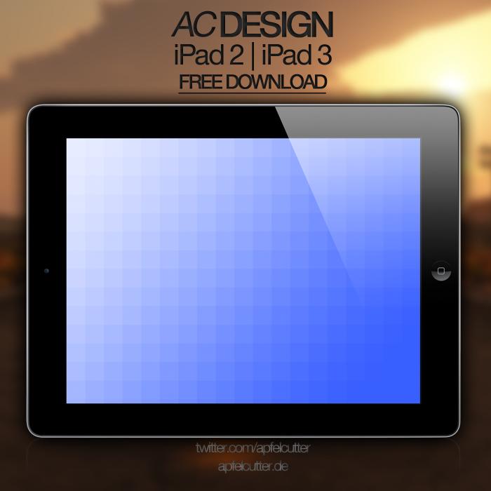 Chillblue - iPad 2/iPad 3-Wallpaper