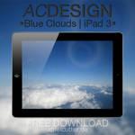 Blue Clouds | iPad 3 Wallpaper