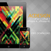 Changic - iPad 3 + iPhone 4S Wallpaper by apfelcutter