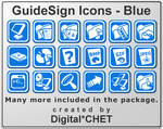 GuideSign Simple - Blue