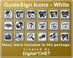 GuideSign Simple - White