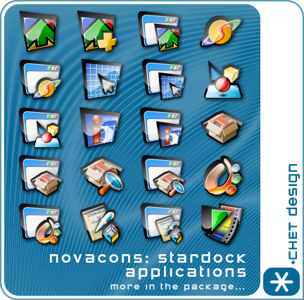 Novacons Stardock Icons by digitalchet