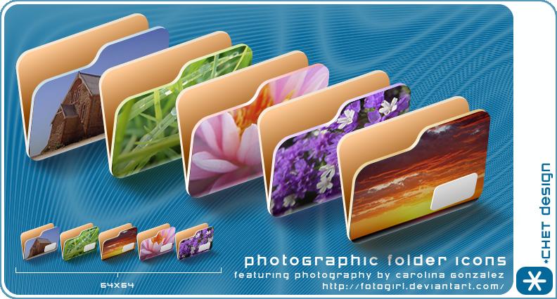 photoGraphic Folder Icons by digitalchet