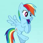 Rainbow Dash fly9