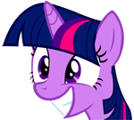 Twilight Sparkle squeeface