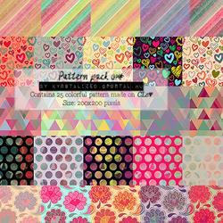Pattern pack 01# by itskrystalized
