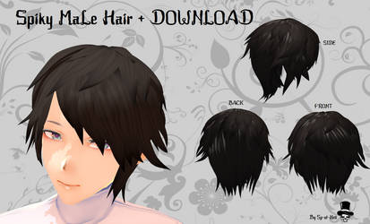 Hair Short Hair On Mmd Mall Deviantart