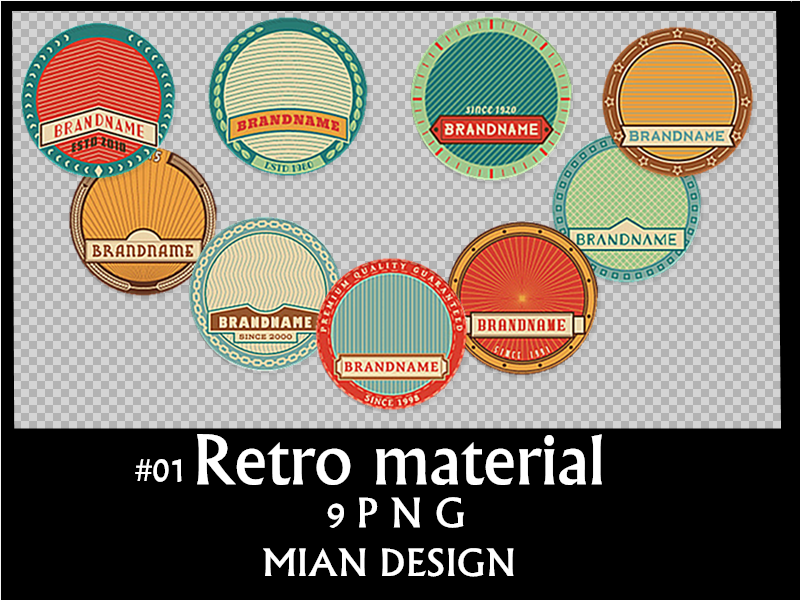 Retro material #01 MIAN DESIGN by MIAN16EXO-L