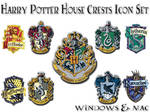 Harry Potter House Crest Icons