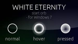 White Eternity Start orb - for Windows 7