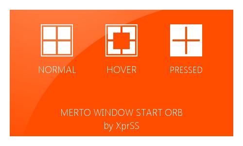 Metro Window Start orb - for Windows 7 by XprSS