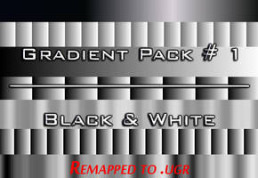 Apophysis Black And White Gradient Pack 1 Remapped