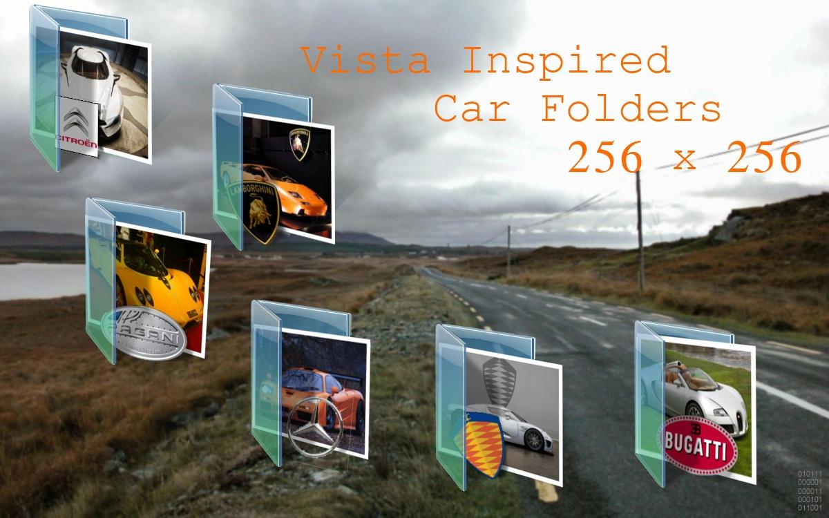 Vista Inspired Car Folders by centpushups