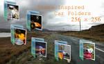 Vista Inspired Car Folders