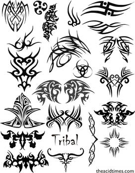 Tribal Vector Set 1
