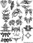 Tribal Vector Set 1