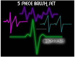 Pulse Monitor Brush Set by RagdyDesigns